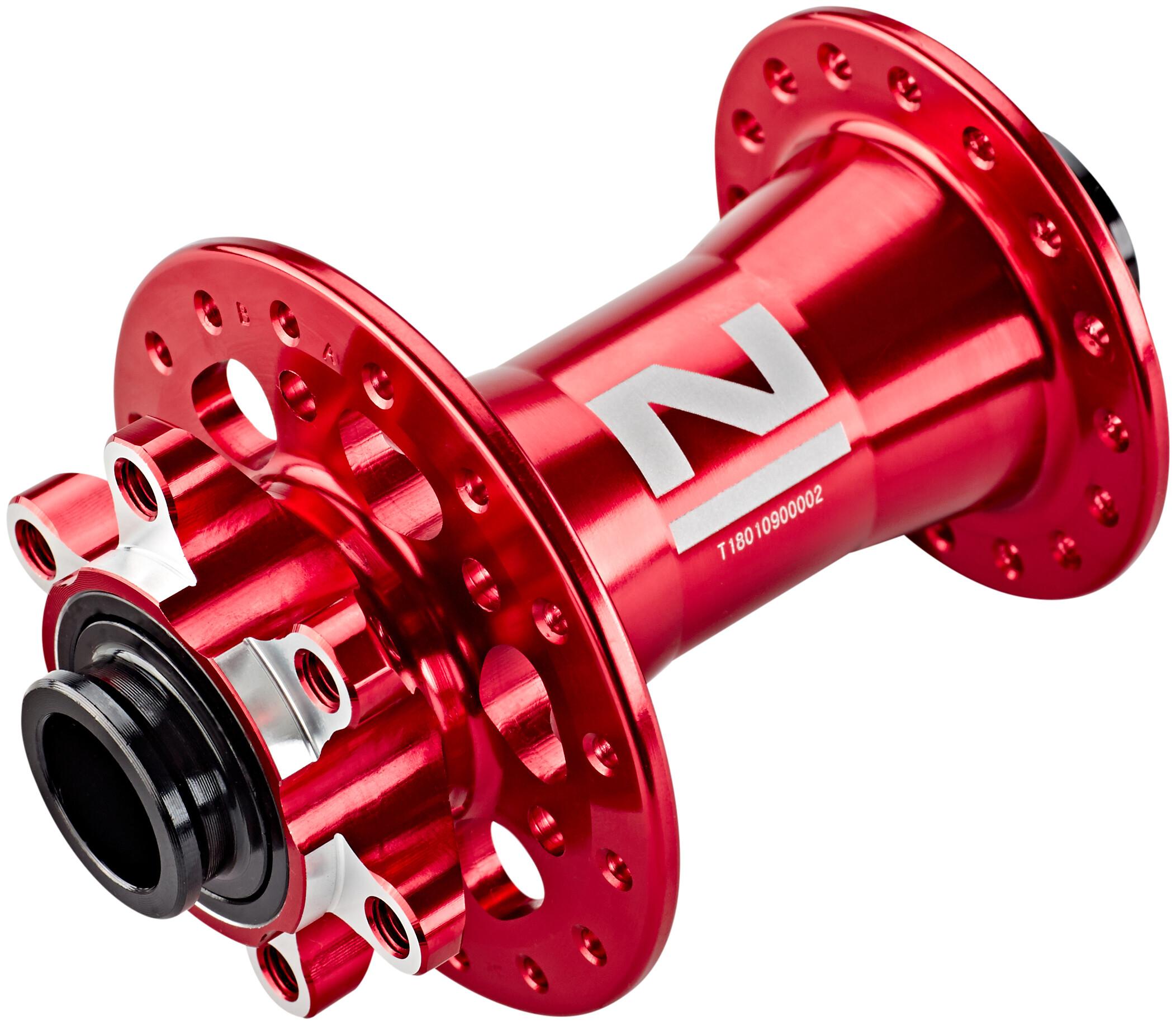 Moyeu VTT Novatec roue avant d791sb-15 SL décor rouge 100//15mm 32 L